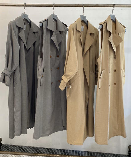 TRENCH LAYERED COAT【WOMENS】