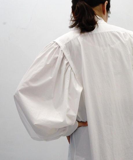 GATHER SLEEVE LONG SHIRTS【WOMENS】