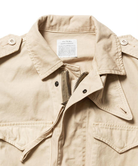 MILITARY DRY DUCK JACKET【WOMENS】