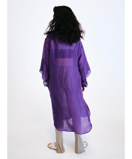 SILK DETACHABLE LONG SHIRTS【WOMENS】
