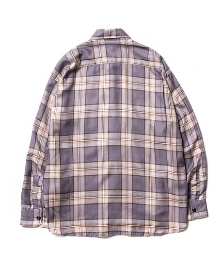 TENCEL CHECK CPO SHIRTS【UNISEX】