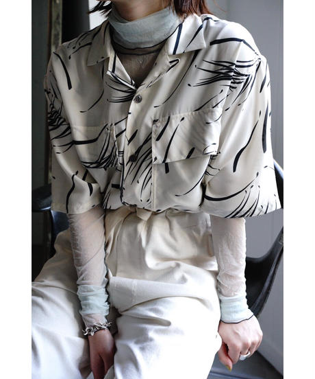 SHEER TULLE TURTLE NECK【WOMENS】
