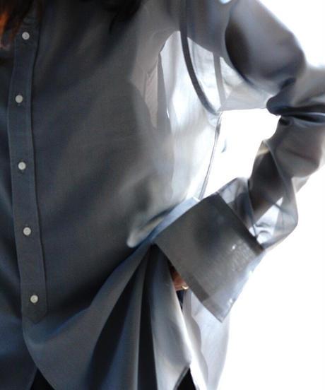 ORGANGDY BAND COLLAR SHIRTS【WOMENS】