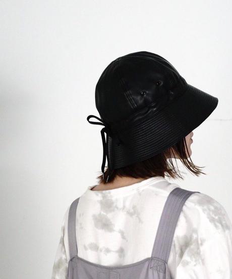 FAKE LEATHER MILITARY HAT【UNISEX】