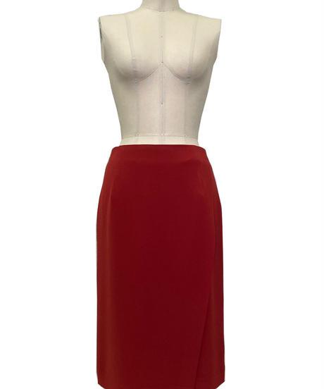 クレープジョーゼット スカート 193-13007