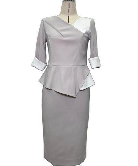 ダブルクロスストレッチ スカート 201-13045