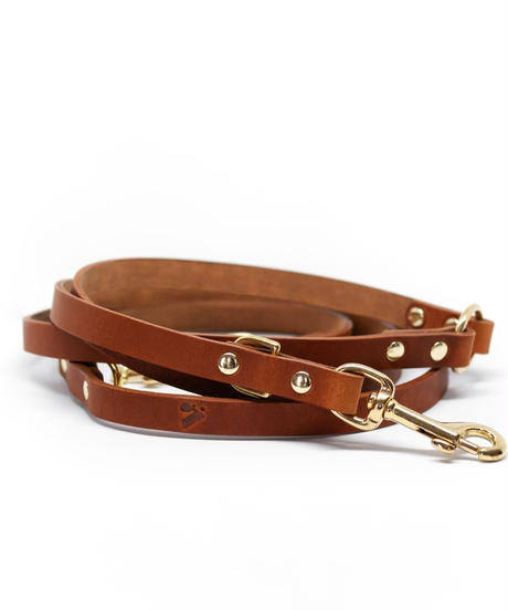 LONG LEATHER MULTI LEAD