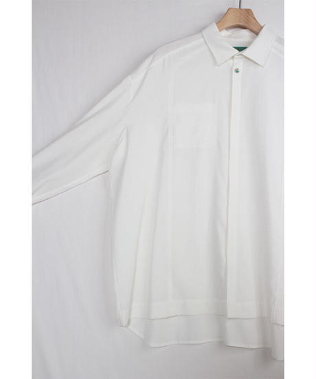 st-52W   white wide shirts