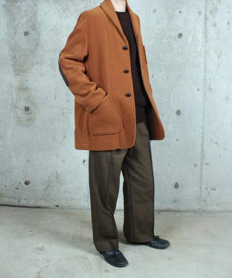 orange brown wool jacket