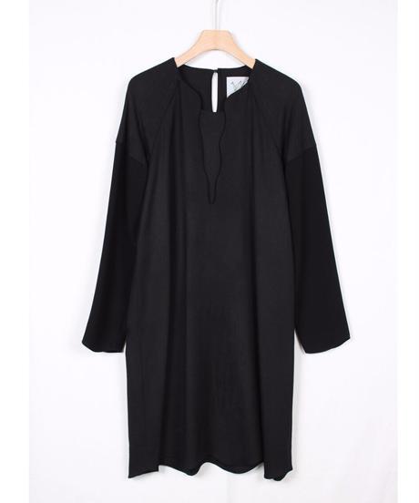 black round dress