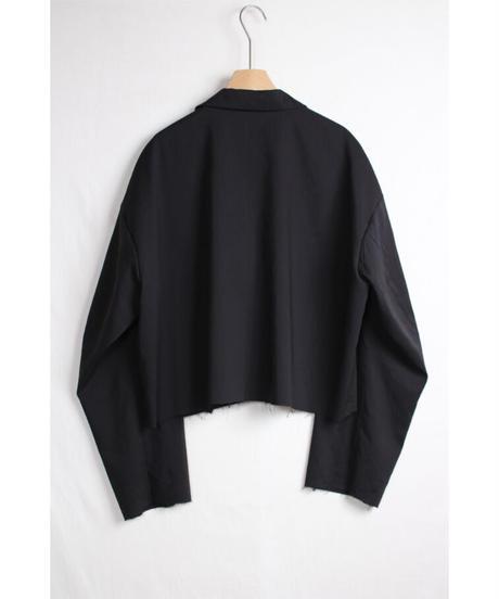 jk-48B   black short jacket