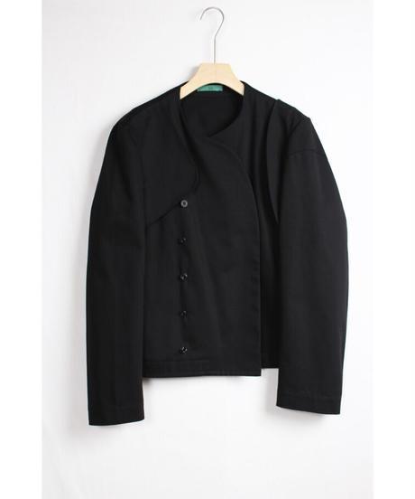 jk-40B   black asymmetry jacket