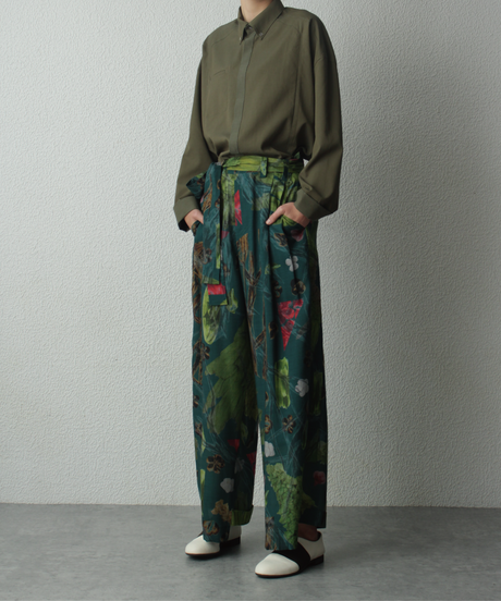 ume uguisu wide pants