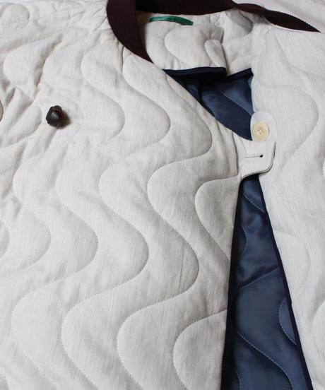 jk-42W   white quilt coat