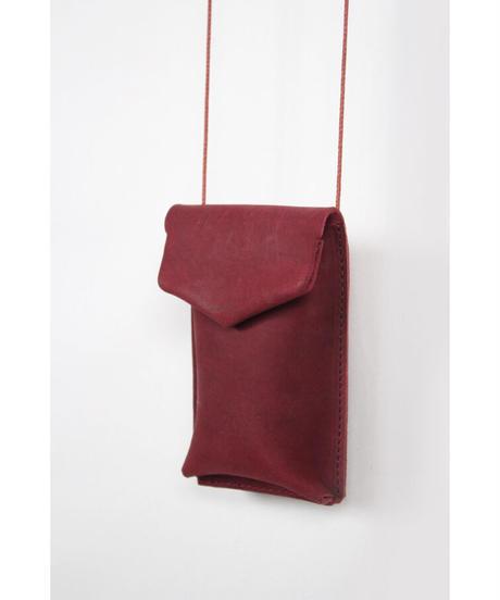ac-22R7  burgundy key pouch
