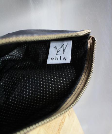 navy hake mini bag