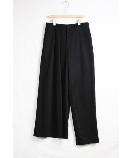 pt-22B   black asymmetry pants