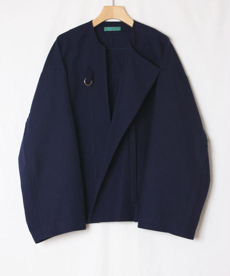 blue wide jacket