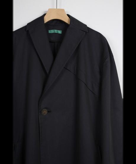 navy wide coat
