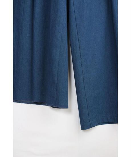 pt-22D   denim asymmetry pants