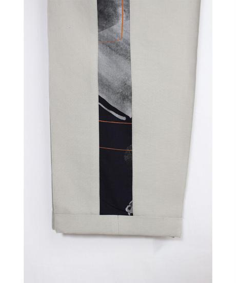 pt-26G   gray line pants