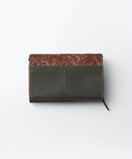 Carving&Canvas Wallet Bag [19Z009]
