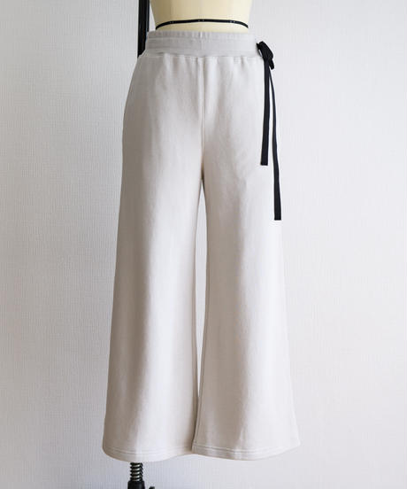 Uptown Sweat Wide Easy Pants(Oyster White/Mauve/Sumi Black)