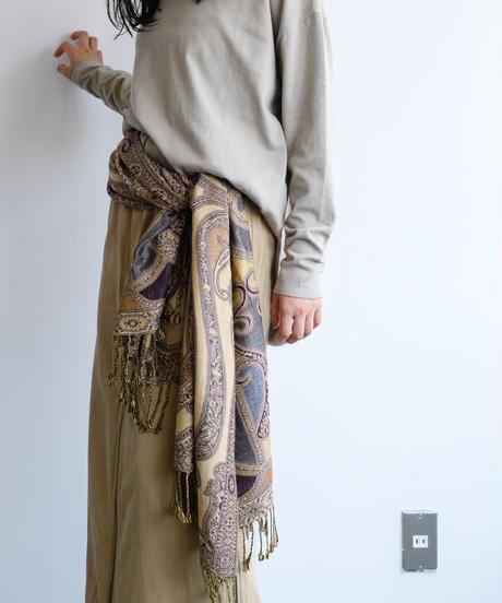4sliders Chino Skirt Y(Sand×Khaki/Black)