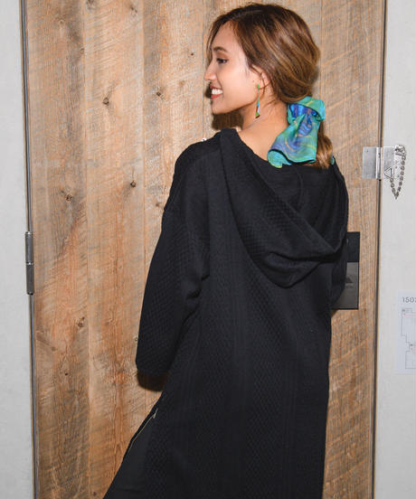 Luxe Holiday Mexican Parka One-piece
