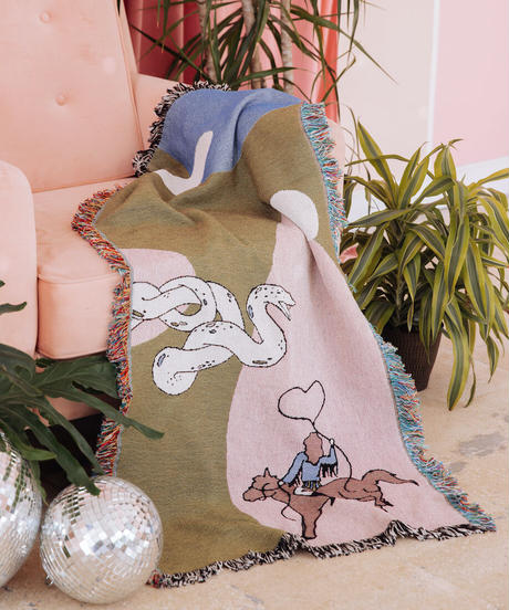 Rodeo Sweetheart Skinny Throw