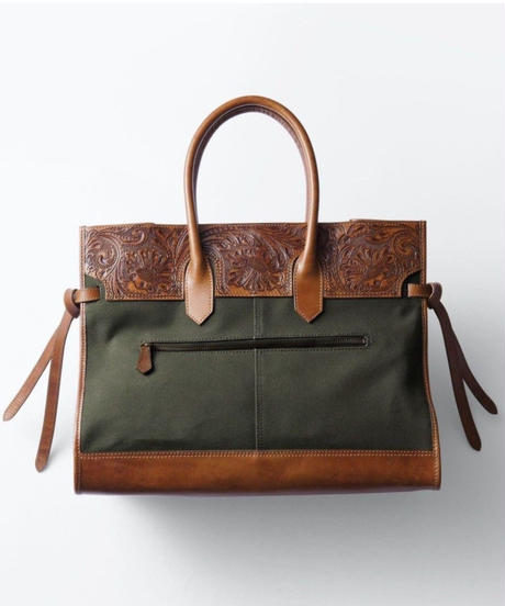 Carving&Canvas Boston Bag [19Z001]