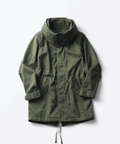 Nomad Big Hood Long Jacket [19M004] MEN