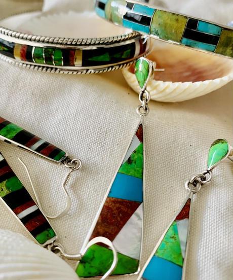 Silver925 Native Striped Pierce