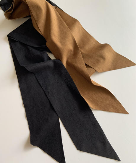 Smooth Stretch Eco-suede Set[3点セット/bronze /black]