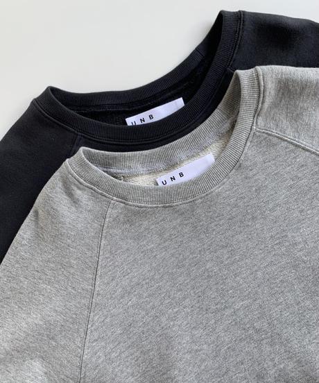 High Dence Sweat Studs Top(Camel/Gray/Black)