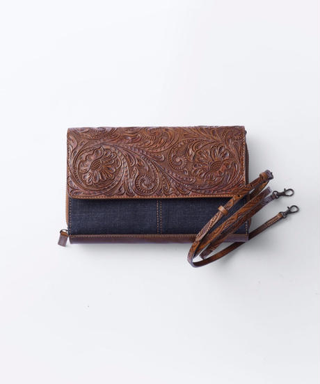 Carving&Denim Wallet Bag [19Z010]