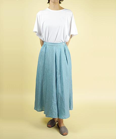 SARAHWEAR/サラウェア|テンセルリネンラップスカート|C-21566