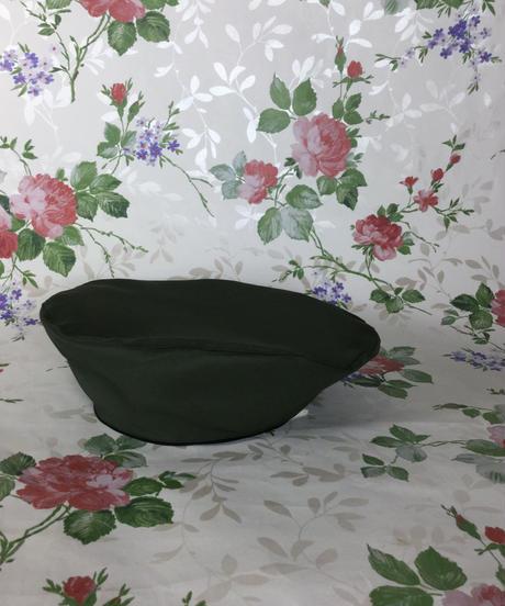 Matsumoto girl ladiesの帽   2枚はぎのベレー帽 7㎝