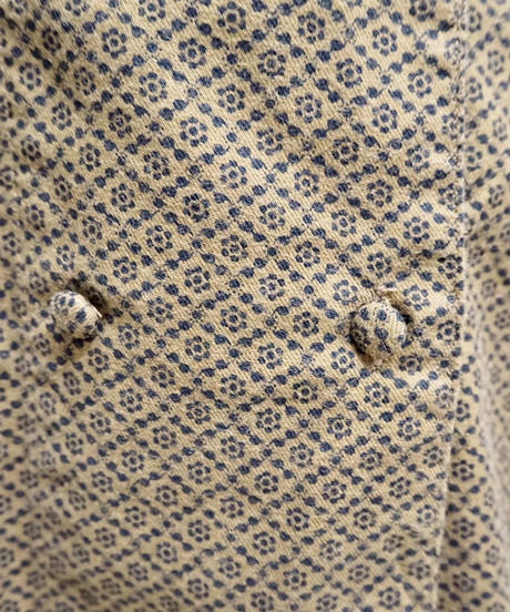 Pattern Double Brest Blouse BR