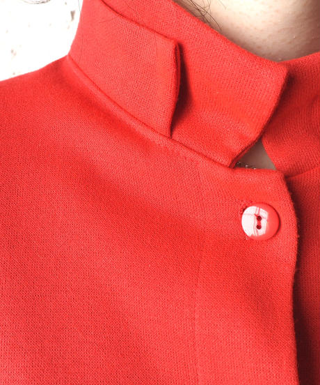Double Stand Collar Design Jacket RE
