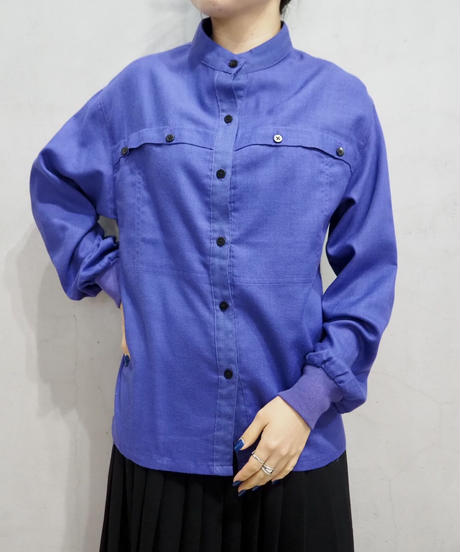 Front Button Band Collar PUR