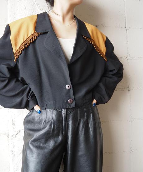 Bicolor Design Jacket BKOR