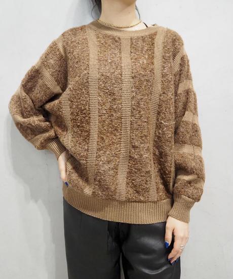 Stripe Dolman Knit BR