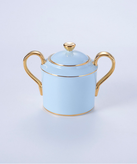 大理石の骨中国コーヒーセット霜降りの磁器のお茶セット高度なポットカップセラミックマグシュガーボウルクリーマーティーポット 1砂糖入れ単品