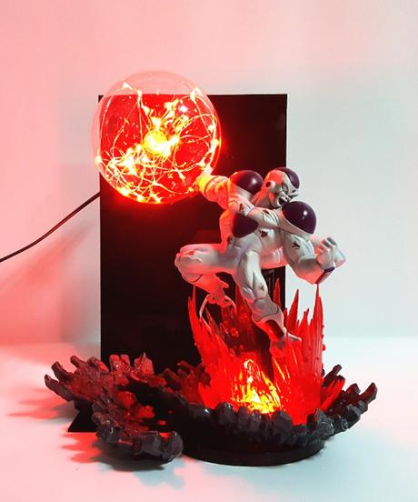 ドラゴンボールZフリーザデスボールledテーブルランプナイトライト