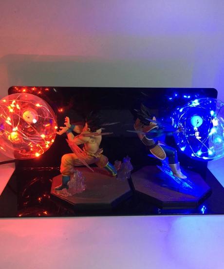 ドラゴンボールソーナ悟空ベジータカカロットスーパーサイヤ人Led電球アニメドラゴンボールZ DBZ Ledランプナイトライト