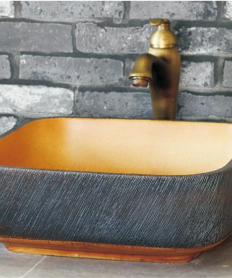 高品質セラミック洗面台手作り磁器浴室シンク