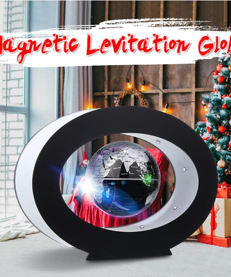 磁気浮上地理地球儀フローティングテルル世界地図ledライト地球地球キッズギフト子供教育玩具