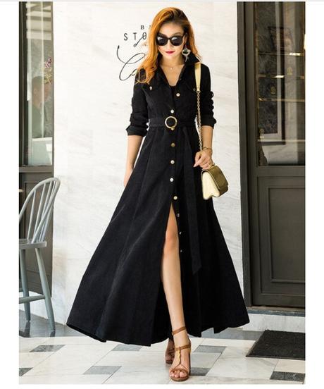 春夏2018黒のベルベットの大きなストラップのドレスロング夏のスリムロングドレスマキシプラスサイズエレガントヴィンテージレディースドレス 9972