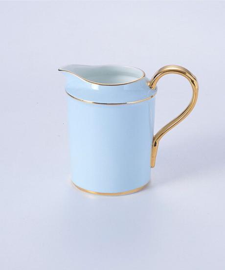 大理石の骨中国コーヒーセット霜降りの磁器のお茶セット高度なポットカップセラミックマグシュガーボウルクリーマーティーポット 1クリーマー単品